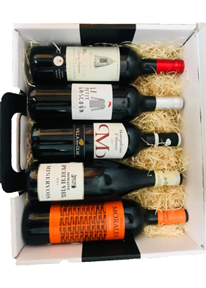 Panier vins rouges Premium