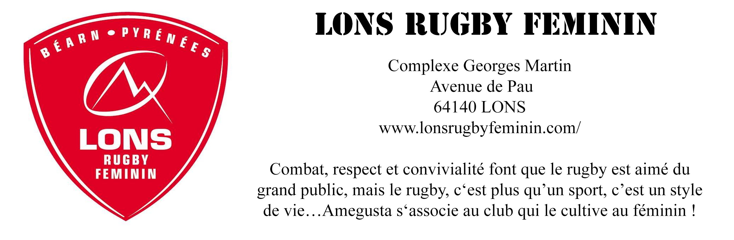 lons rugby feminin